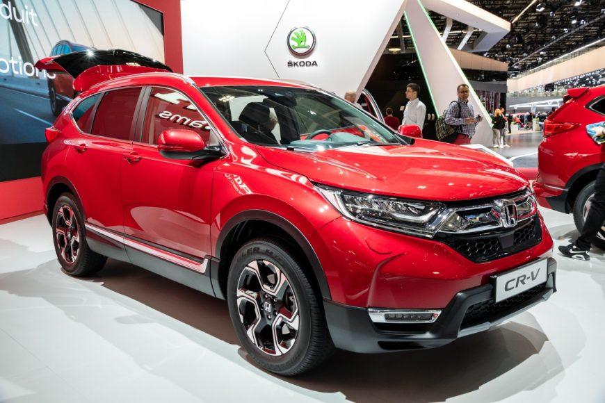 Honda lancia l'auto del 2019: arriva Honda CR-V Hybrid