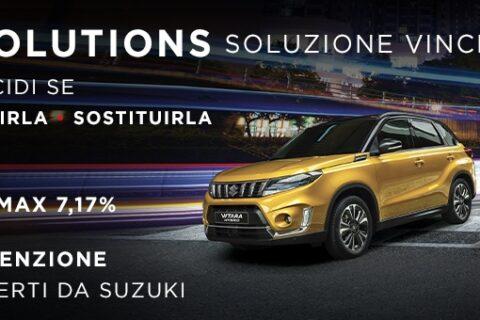 SUZUKI SOLUTIONS: SOLUZIONE VINCENTE